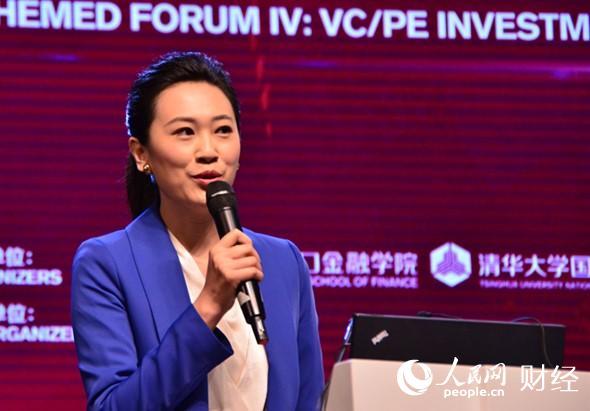 中央电视台财经频道首席财经记者张琳