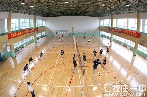 石家庄一中体育馆(馆内)